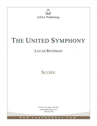 the united symphony score cover
