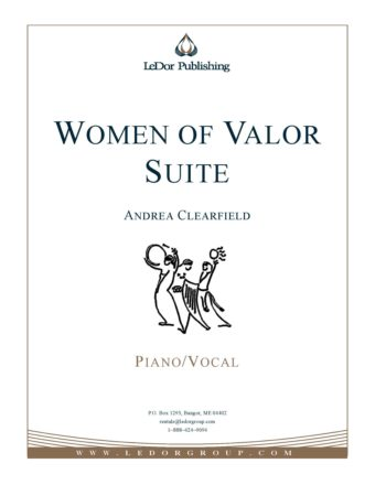 women of valor suite piano/vocal cover
