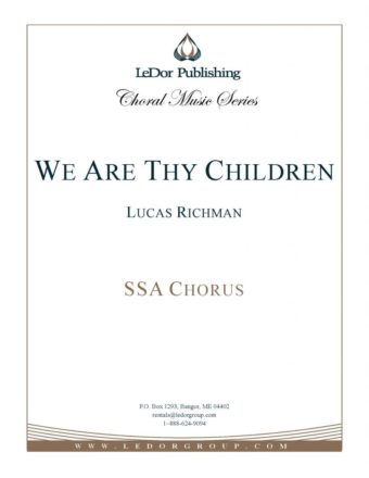 we are thy children ssa chorus cover