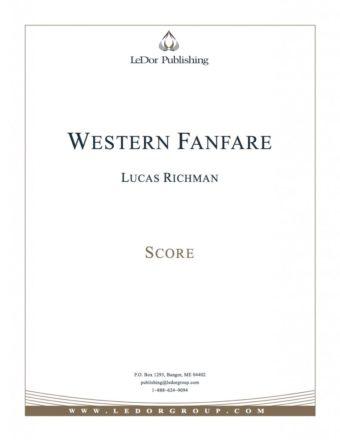 western fanfare score cover