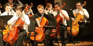 photo of high school orchestra